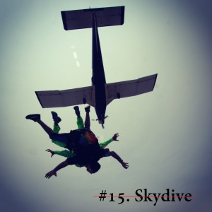 #15. Skydive