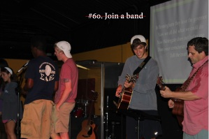 #60 Join a band